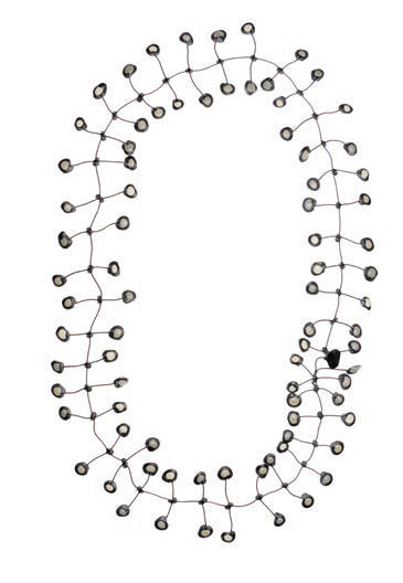 Annemieke Broenink Dubbel Pop Dot Necklace Pebblestone