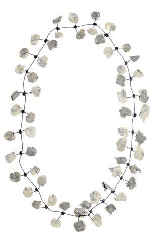Annemieke Broenink Lace Necklace Pebblestone