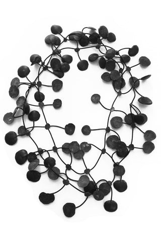 Annemieke Broenink Pop Dot Necklace Black