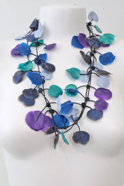 Annemieke Broenink Poppy Necklace Blue Mix