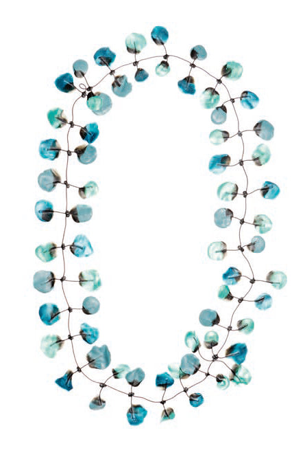 Annemieke Broenink Poppy Necklace Turquoise Mix