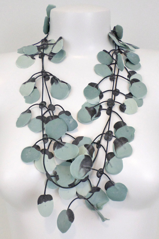 Annemieke Broenink Poppy Necklace Cloudy Sky