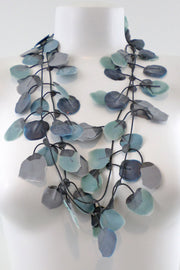 Annemieke Broenink Poppy Necklace Indigo