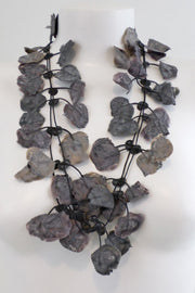 Annemieke Broenink Lace Necklace Melting Grey