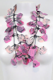Annemieke Broenink Lace Necklace Pink Candy