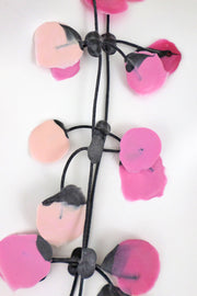 Annemieke Broenink Poppy Necklace Pink Candy