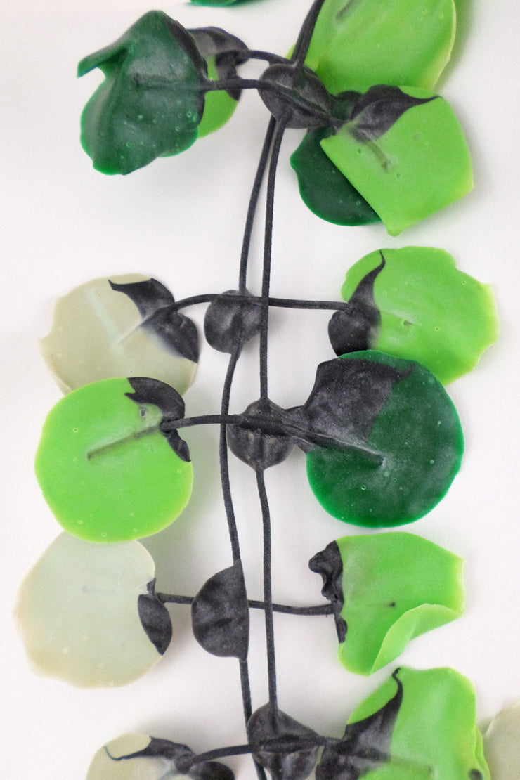 Annemieke Broenink Poppy Necklace Acid Green