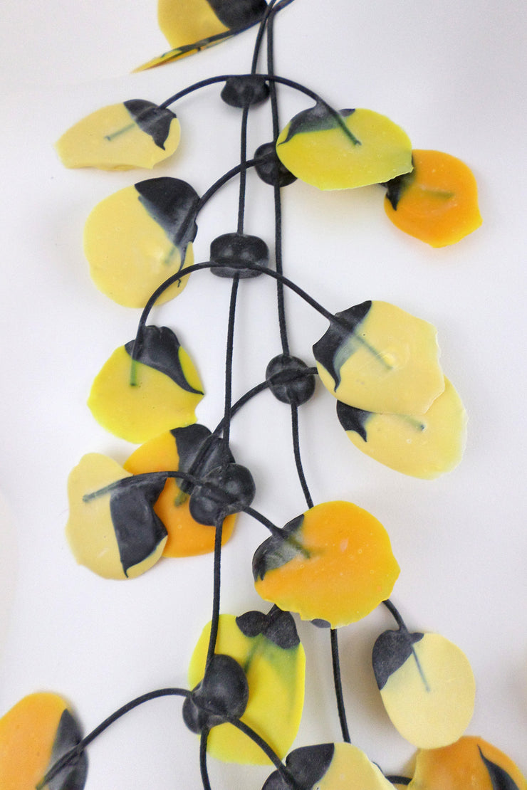 Annemieke Broenink Poppy Necklace Bright Yellow