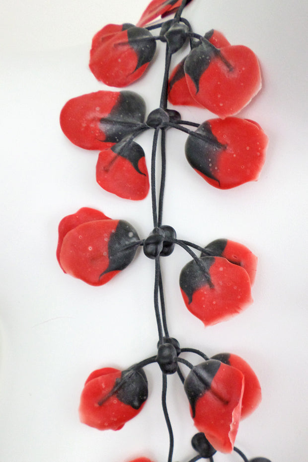 Annemieke Broenink Poppy Necklace Red
