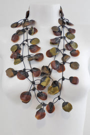 Annemieke Broenink Poppy Necklace Rustic Brown