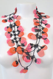 Annemieke Broenink Poppy Necklace Salmon