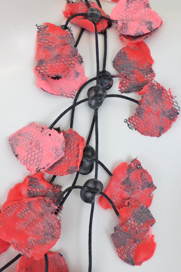 Annemieke Broenink Lace Necklace Watermelon