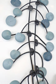 Annemieke Broenink Pop Dot Necklace Dusty Blue