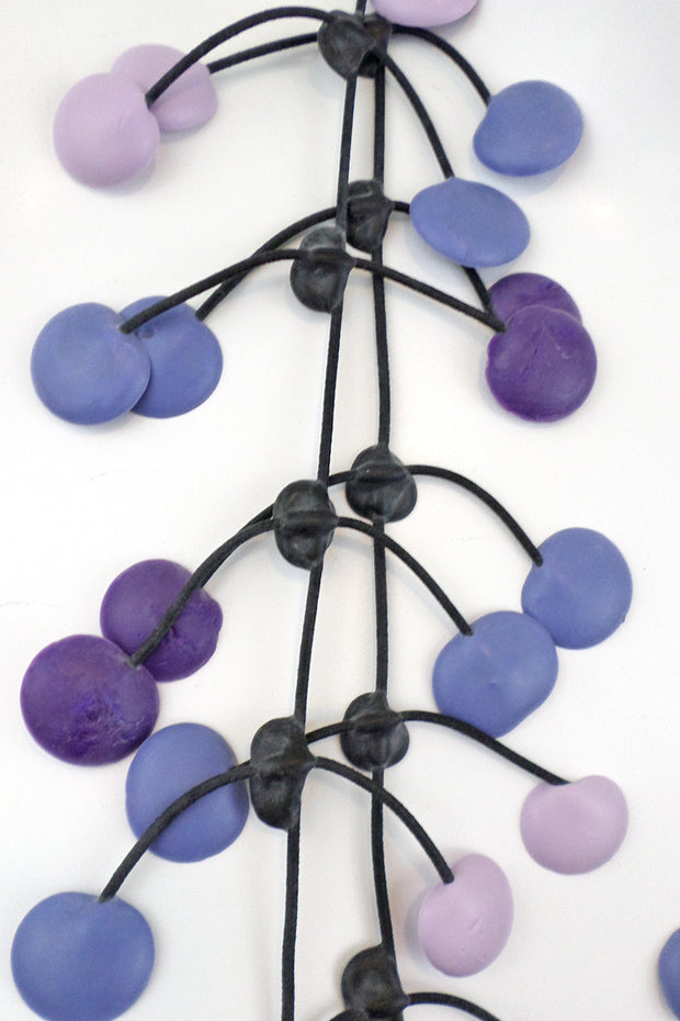 Annemieke Broenink Pop Dot Necklace Violet