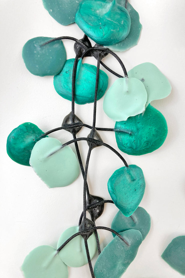 Annemieke Broenink Poppy Necklace Aqua Green