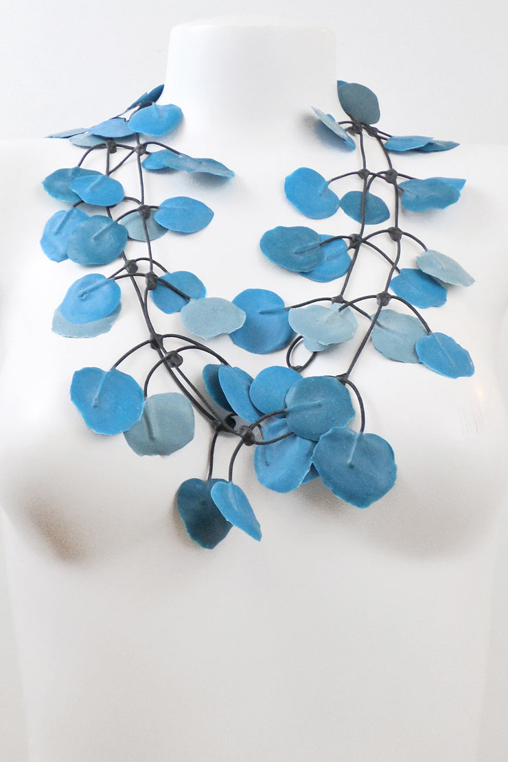 Annemieke Broenink Poppy Necklace Summer Teal