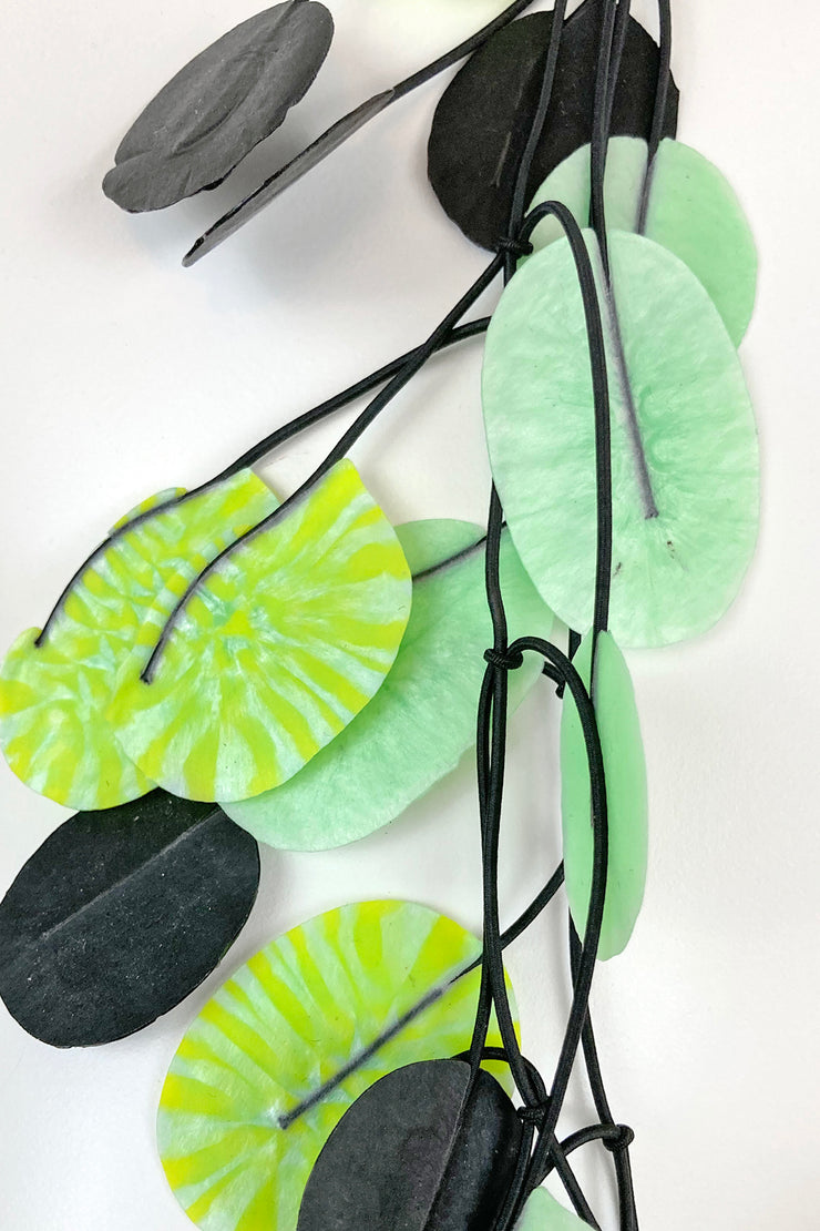 Annemieke Broenink Tetri Poppy Necklace Avocado