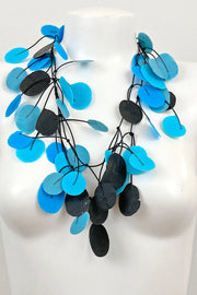 Annemieke Broenink Tetri Poppy Necklace Summer Teal