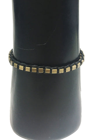 Mandy Campio Blocks Bracelet Black