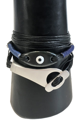 Mandy Campio Eye Bracelet Black