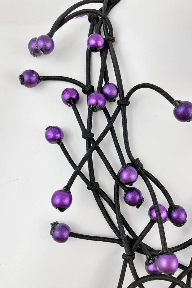 Annemieke Broenink Bianca Necklace Purple