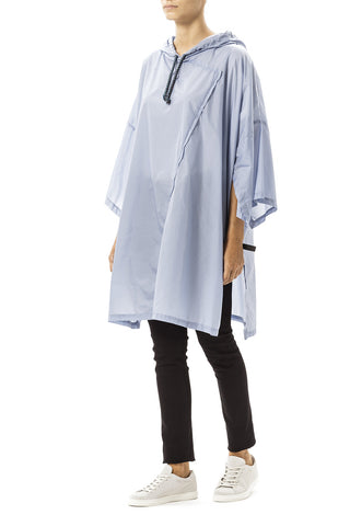 Daily Day Rain Poncho Light Blue