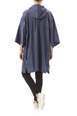 Daily Day Rain Poncho Deep Blue