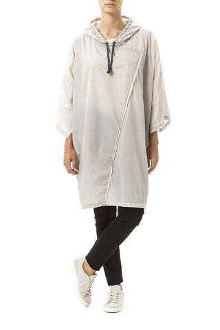 Daily Day Rain Poncho Light Grey