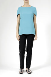 Daily Day Daily Day Wednesday Top Turquoise - KIITOSlife - 5