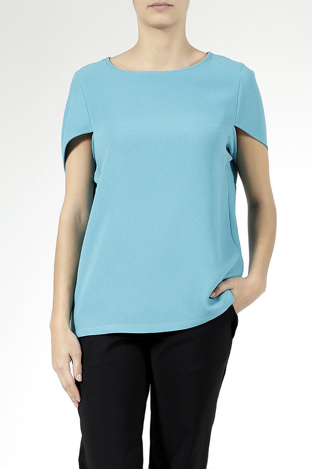 Daily Day Daily Day Wednesday Top Turquoise - KIITOSlife - 1