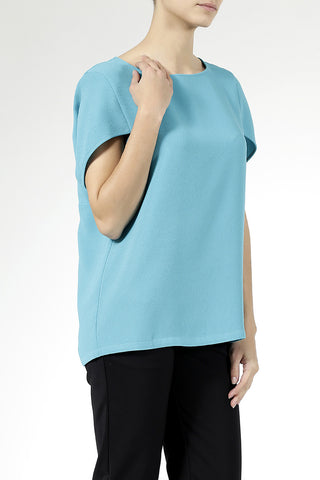 Daily Day Wednesday Top Turquoise