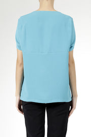 Daily Day Daily Day Wednesday Top Turquoise - KIITOSlife - 4