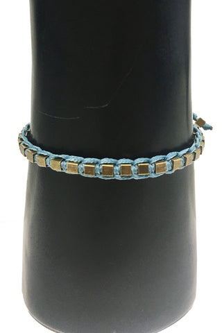 Mandy Campio Blocks Bracelet Denim