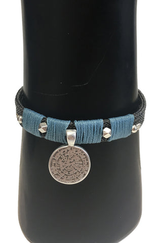 Mandy Campio Coin Bracelet Denim