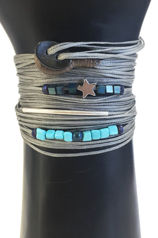 Mandy Campio Loop Wrap Bracelet Dove