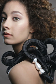 Ekei Menna by Annemieke Broenink Snake Necklace White