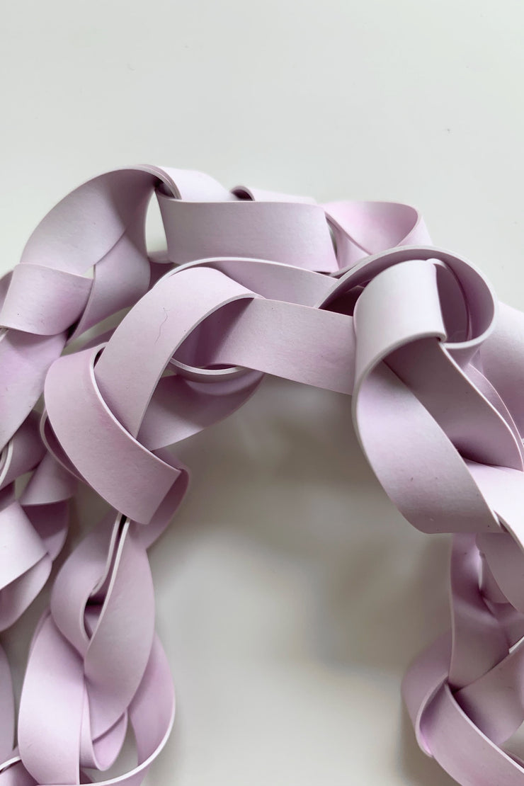 Frank Ideas Chaotic Necklace Wide Lilac