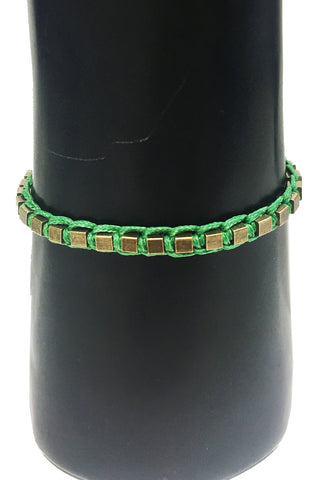 Mandy Campio Blocks Bracelet Fern