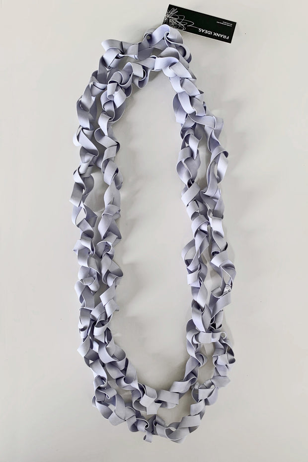 Frank Ideas Chaotic Necklace Wide Periwinkle