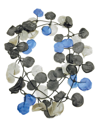 Annemieke Broenink Poppy Necklace Blue/Neutral