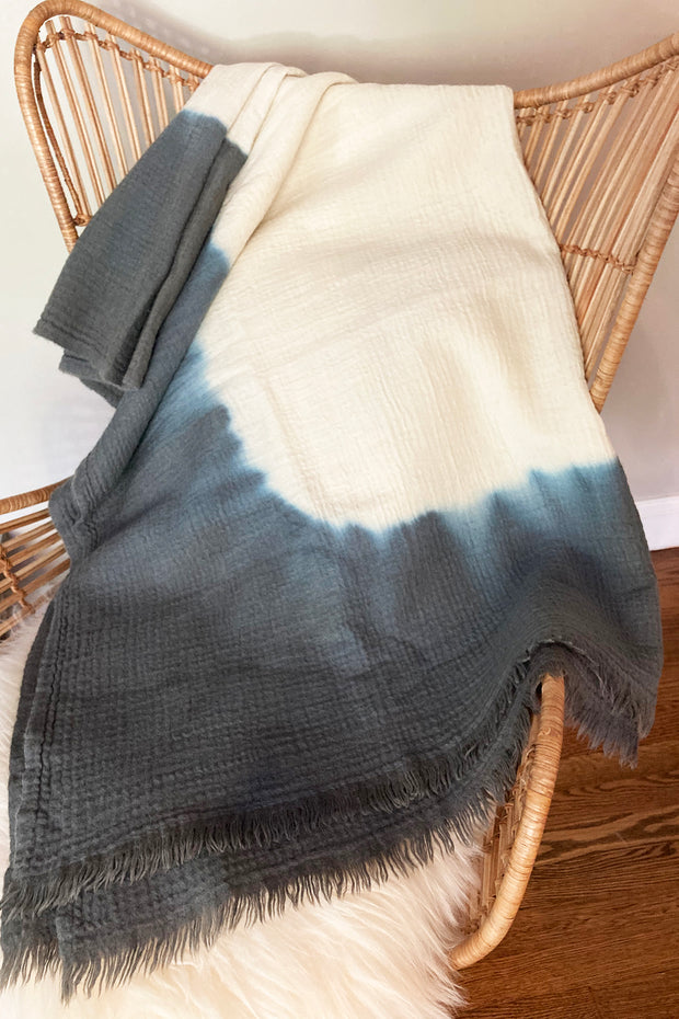 Nest Factory Ombre Throw Grey