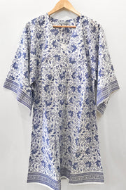 Nest Factory Lounging Mini Dress Blue Flower