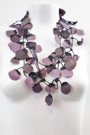 Annemieke Broenink Poppy Necklace Mauve