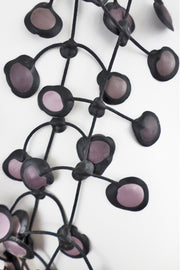 Annemieke Broenink Dubbel Pop Dot Necklace Mauve