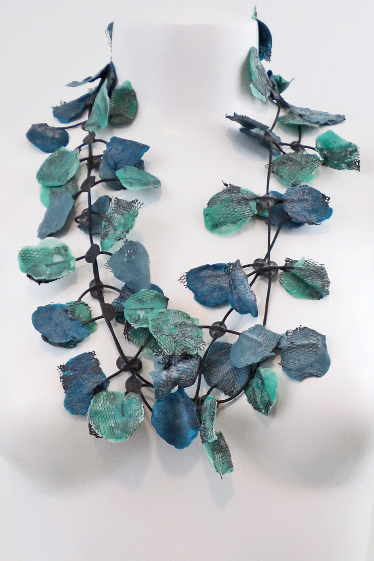 Annemieke Broenink Lace Necklace Turquoise Mix