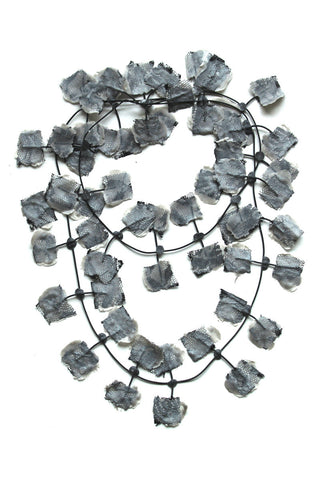 Annemieke Broenink Lace Necklace Silver
