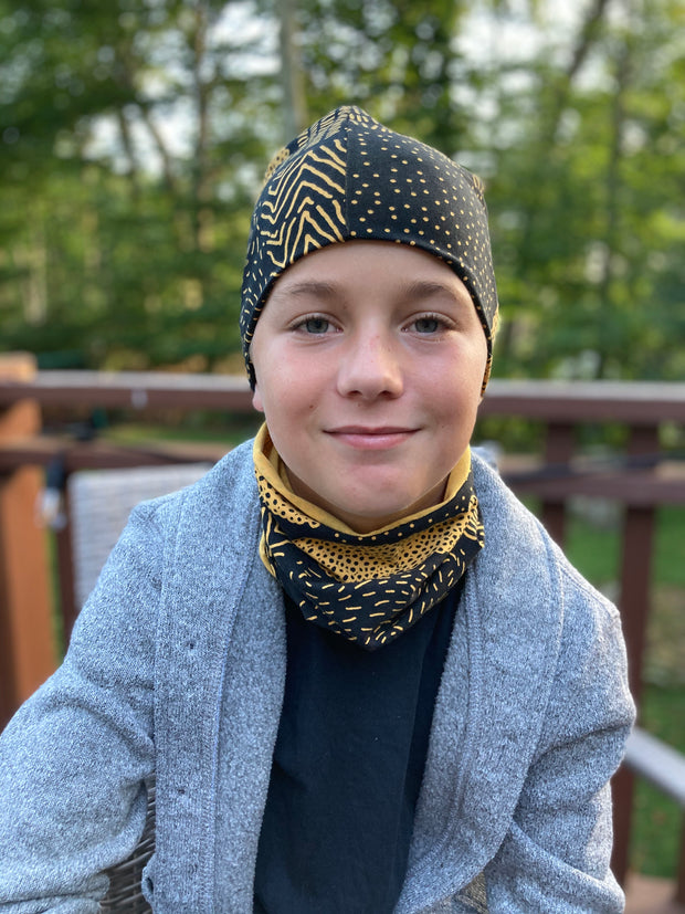 PaaPii Sarka Beanie Ochre for Adults & Kids