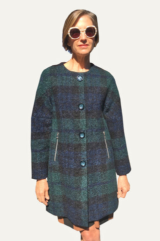 Ritva Falla Faxa Coat Black/Blue/Green