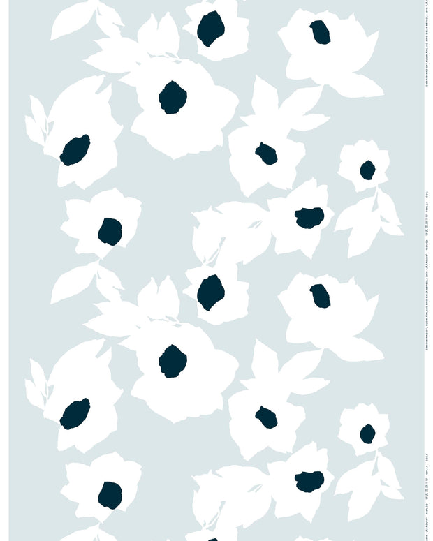 Marimekko Jäärouva Cotton Fabric by the Yard