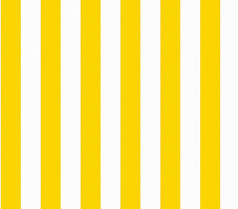 Marimekko  Korsi Wallpaper Yellow/White